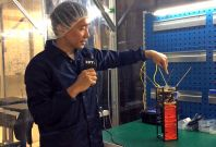 Dr Alexander Ling explains quantum nano-satellite invention