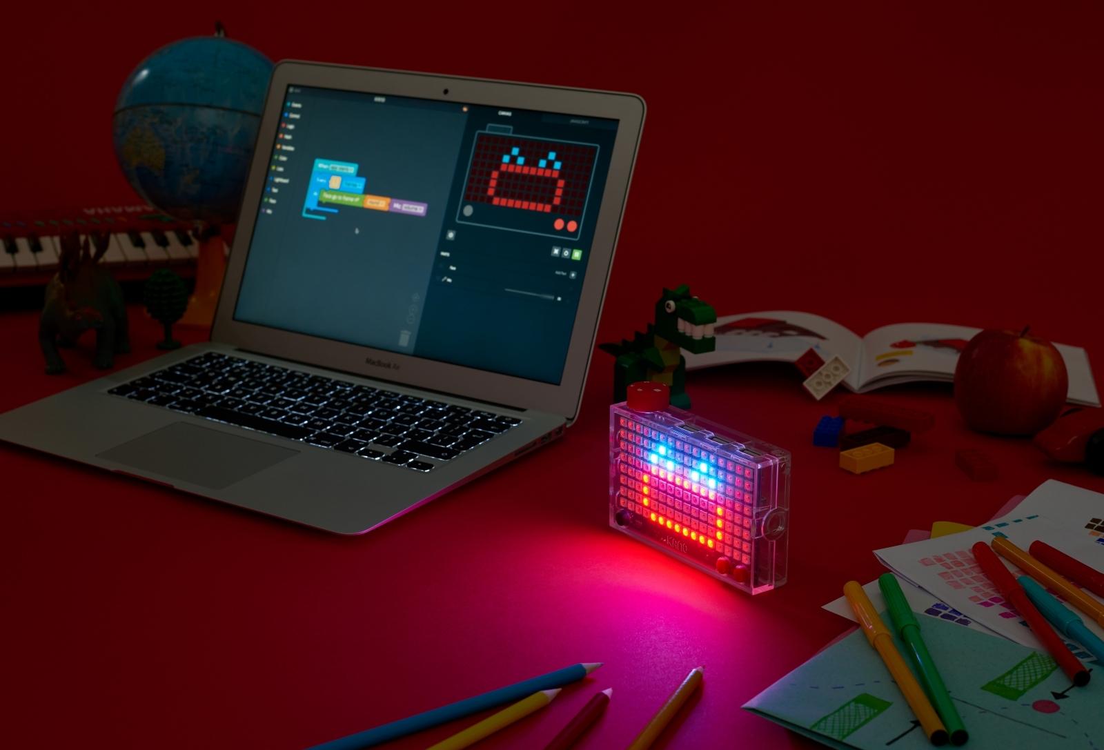 Kano Pixel Kit light-based computer