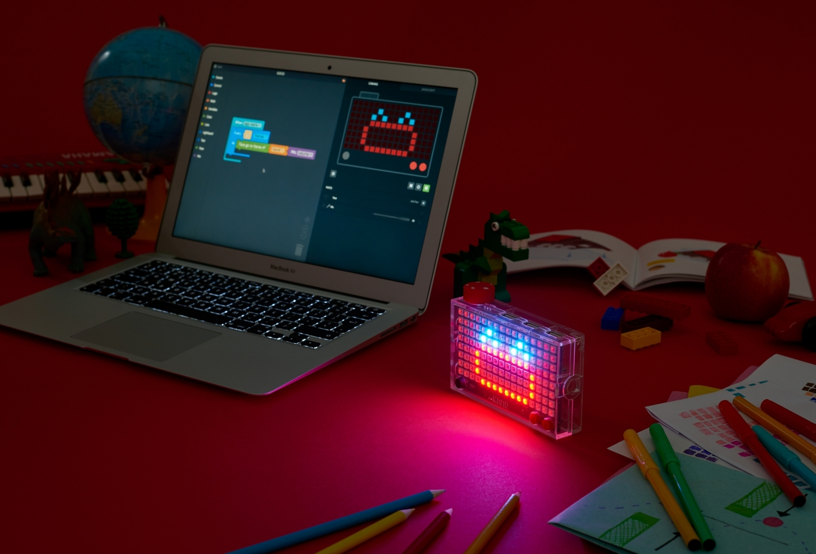 Kano Pixel Kit light-based computer