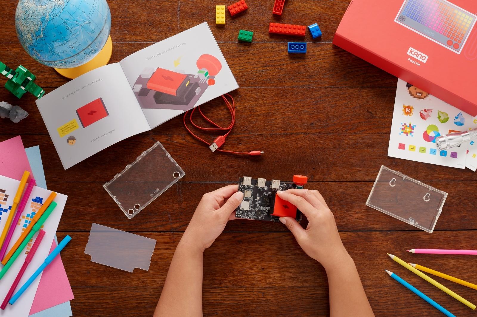 The original Kano DIY computer kit