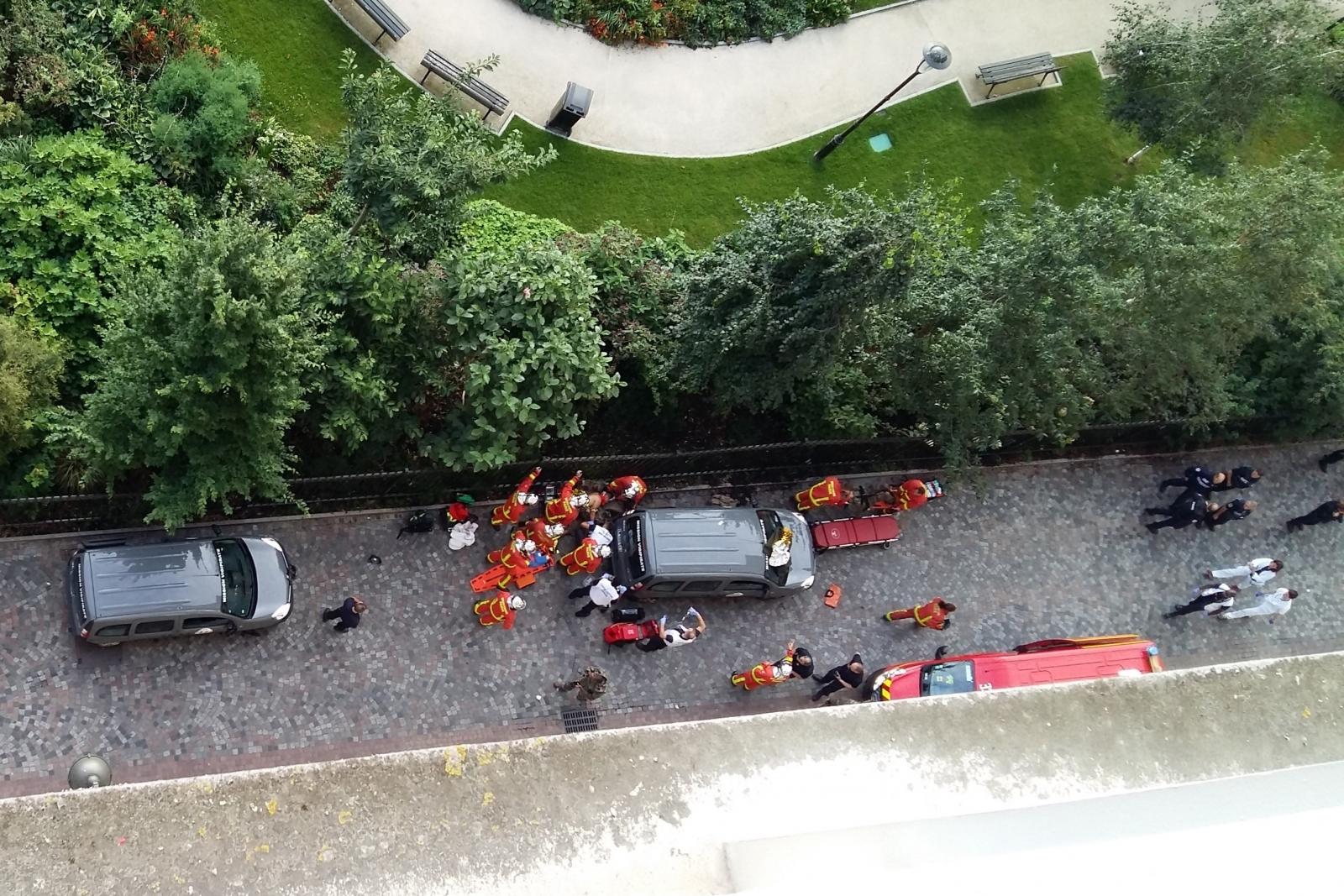Paris attack Levallois-Perret