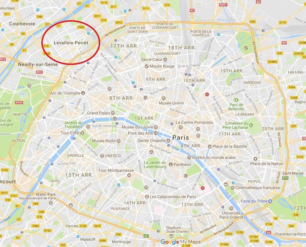Levallois-Perret Paris