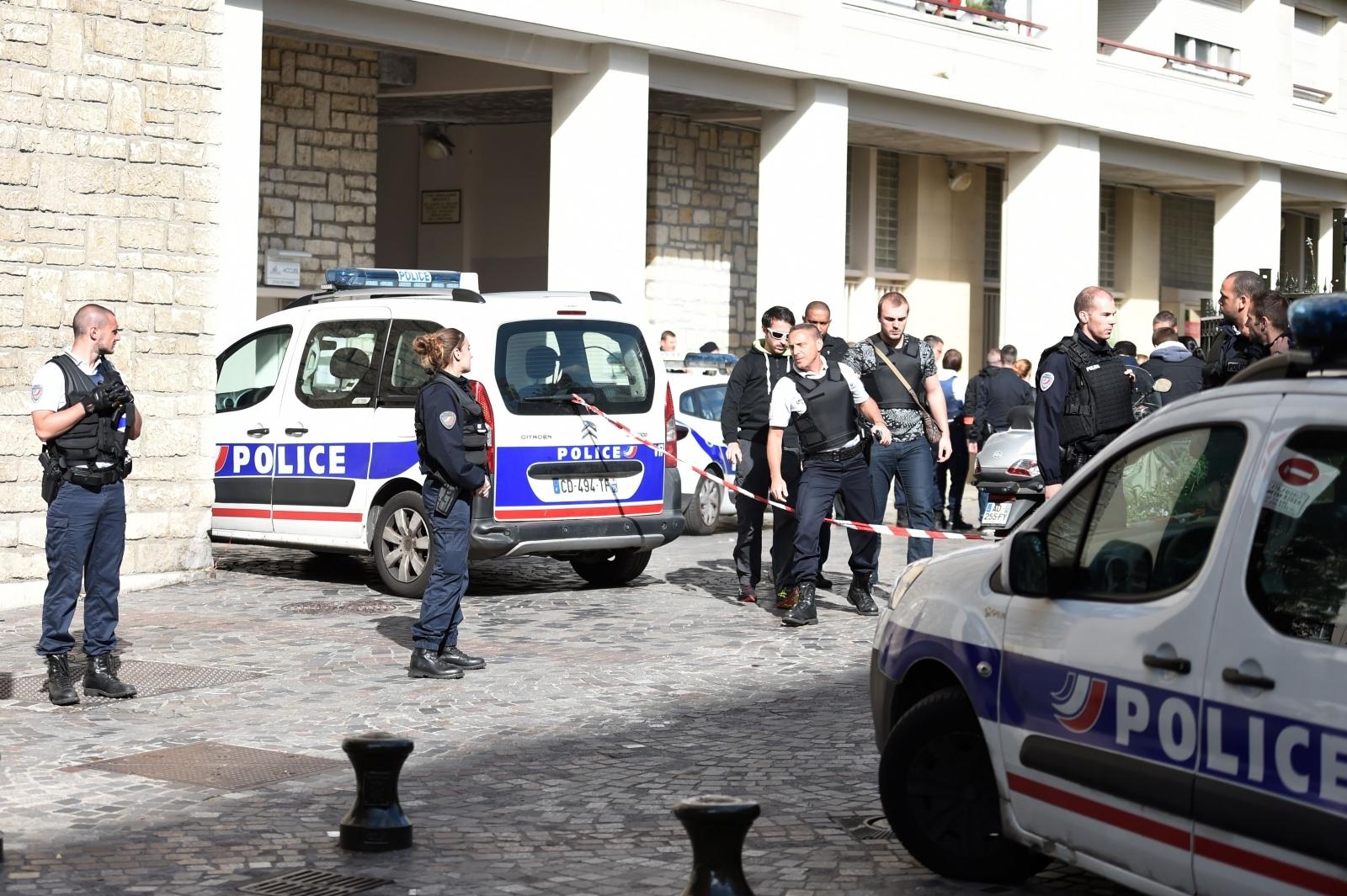 France Paris soldier attack