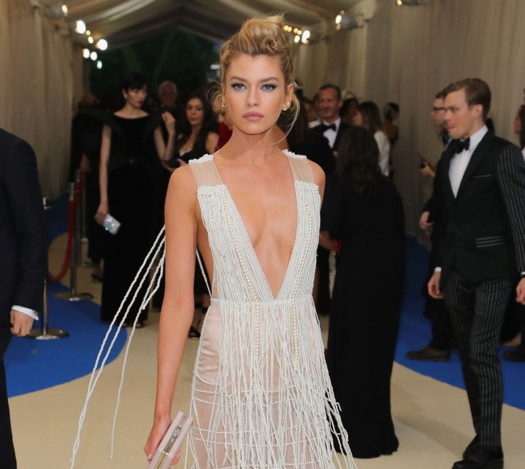 Stella Maxwell attends Mat Gala on 1 May 2017 in New York City Getty. Victoria  Secret model ...