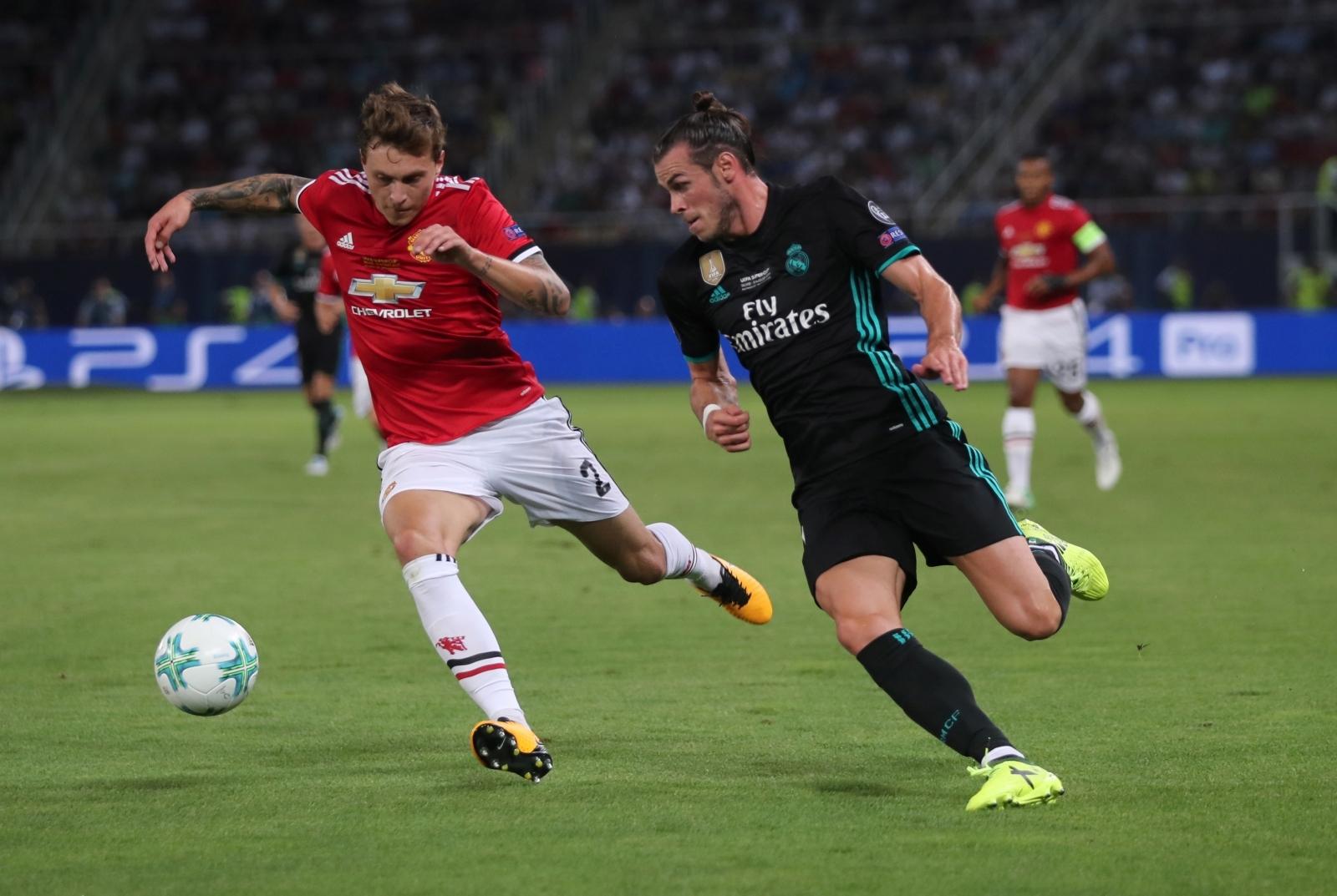 Victor Lindelof & Gareth Bale