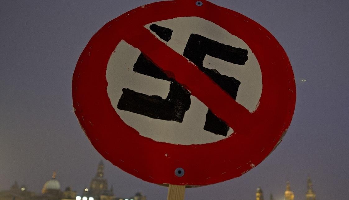 Nazi protest