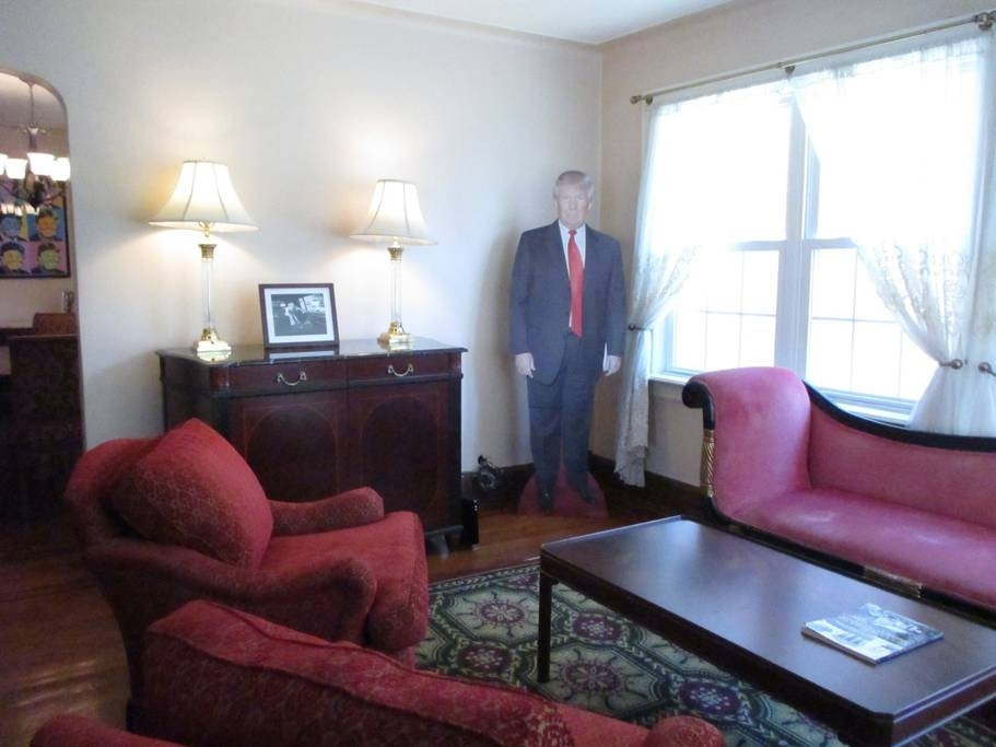 President Trump's Childhood Home Now Listed On Airbnb