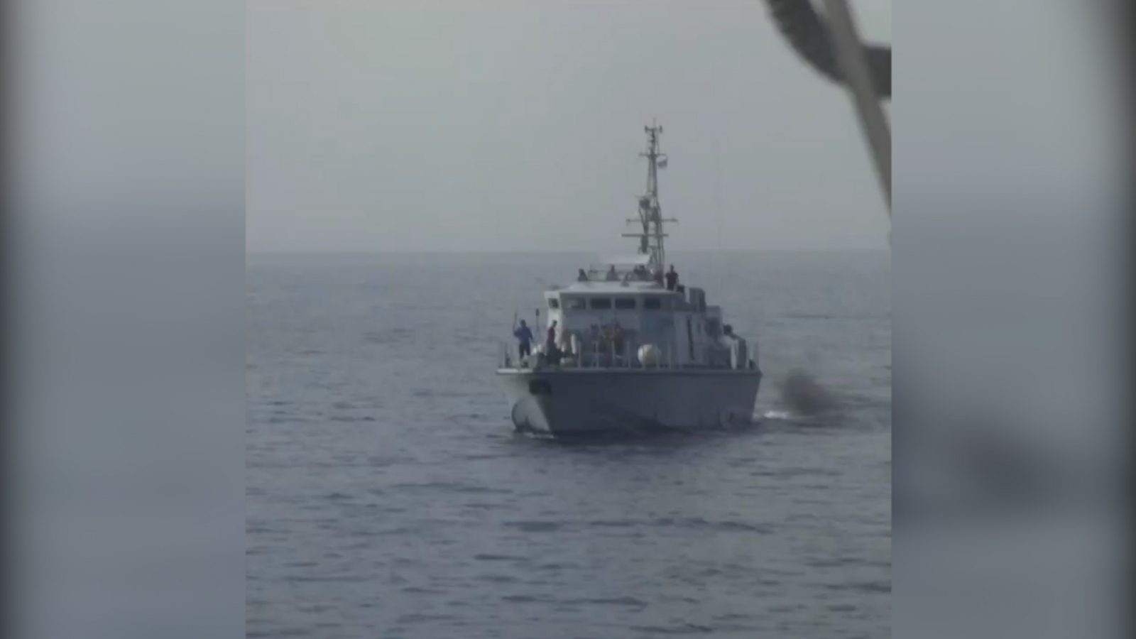NGO Video Purports to Show Libyan Coast Guard Firing at Migrant Rescue Boat
