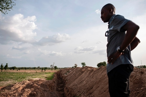 A university in Nigeria had to dig trenches to protect staff from Boko Haram
