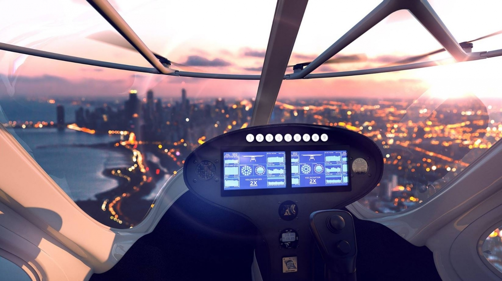 dubai 39 s world first self flying taxis new images take look inside automated aircraft. Black Bedroom Furniture Sets. Home Design Ideas