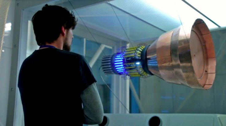 The EmDrive, as depicted on CBS' Salvation