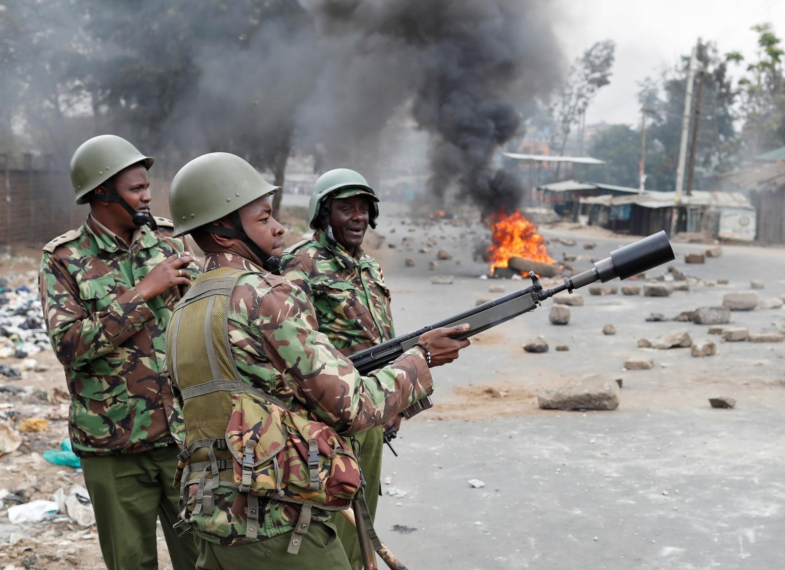 Kenya election protests