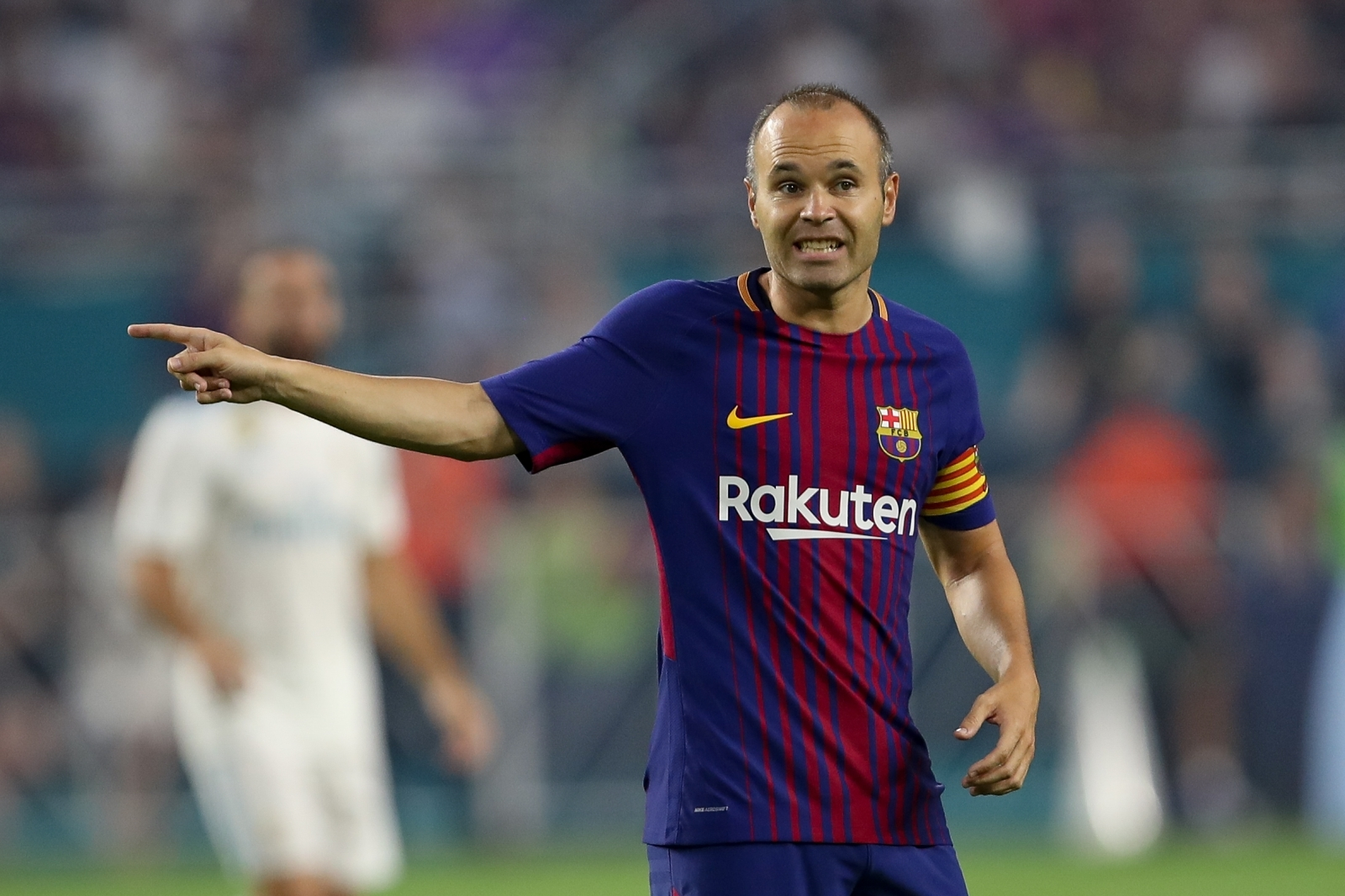 Iniesta out Andres Spanish captain Barcelona of ruled