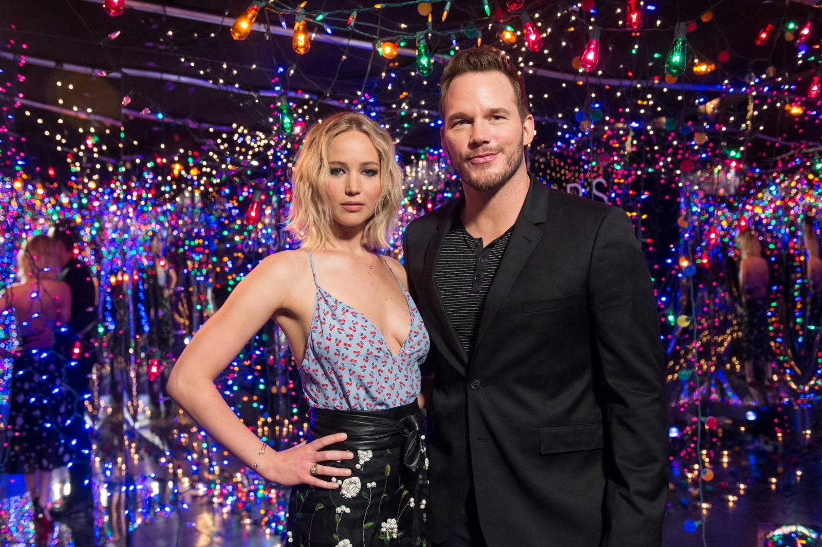 Jennifer Lawrence says she never had an affair with Chris Pratt