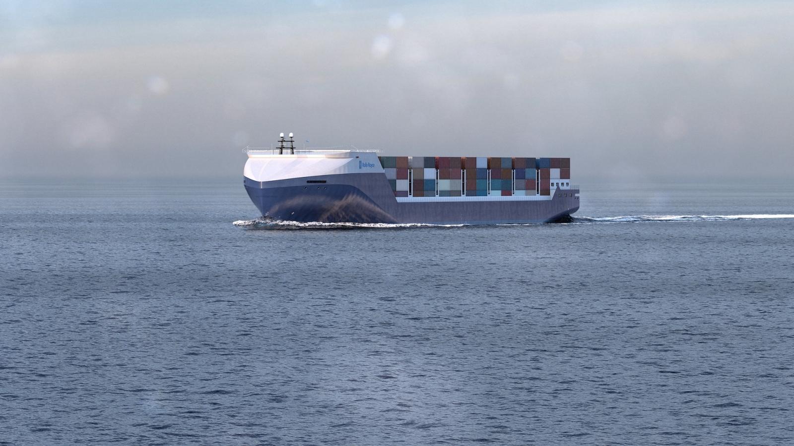 Rolls Royce cargo ship concept