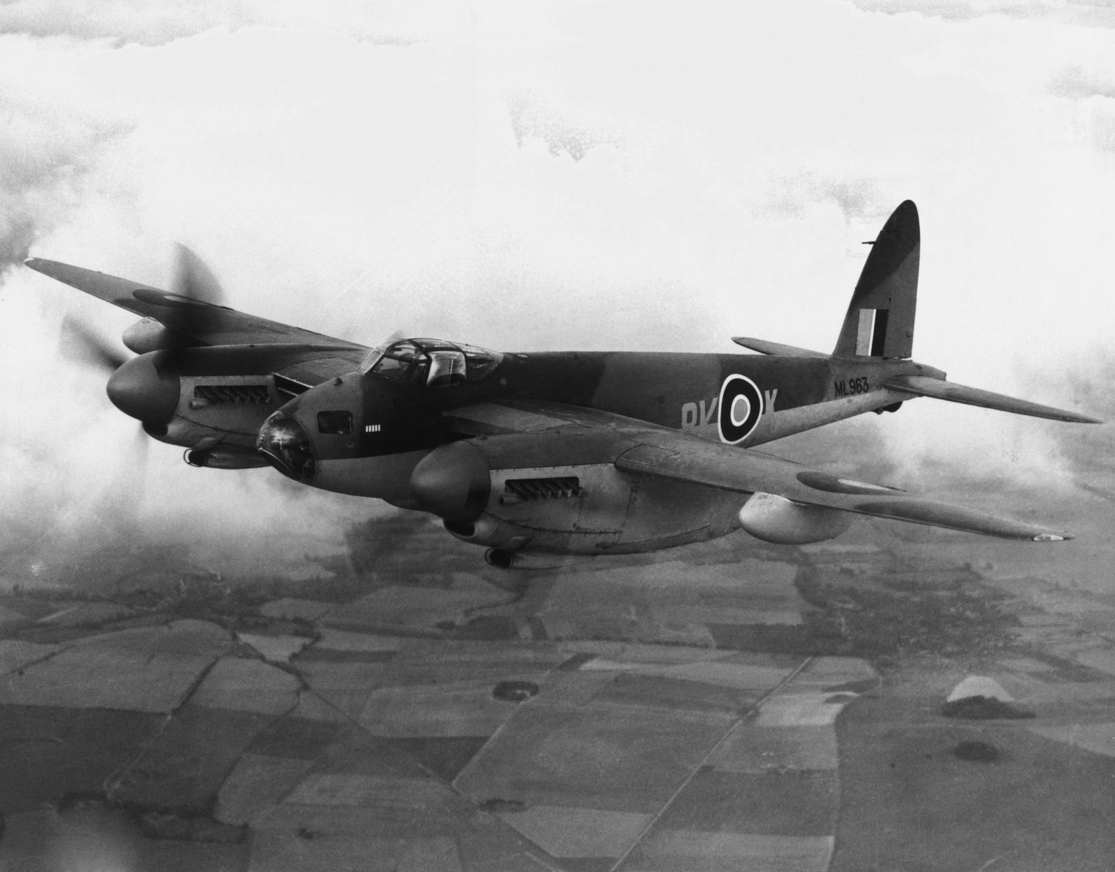 Mosquito bomber blueprints found