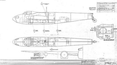 Mosquito bomber blueprints