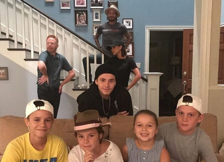Beckhams with Jesse Ferguson