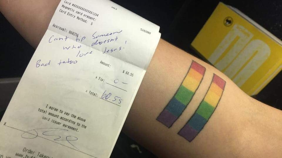 LGBT tattoo discrimination