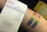 LGBT tattoo discrimination