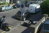 CCTV Captures Shocking Robbery Outside Hindu Temple In London