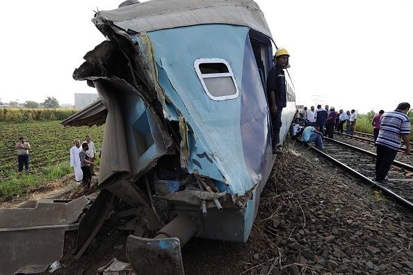 Egypt train crash