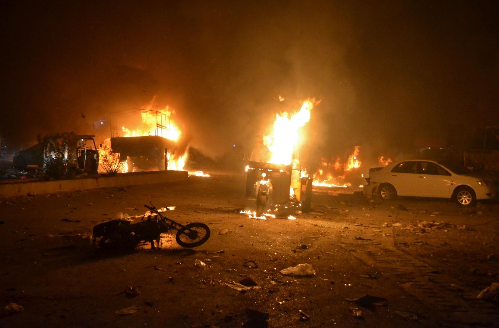 Powerful blast in Pakistan's Balochistan targets army truck