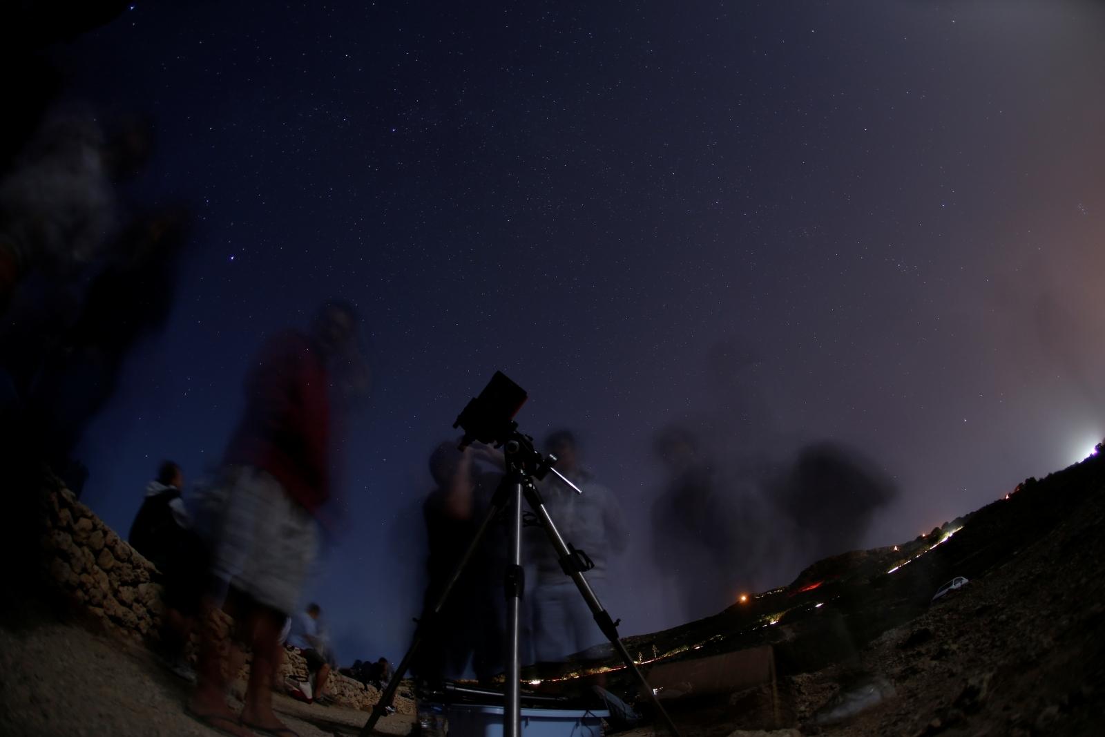 Perseids meteor shower 2017