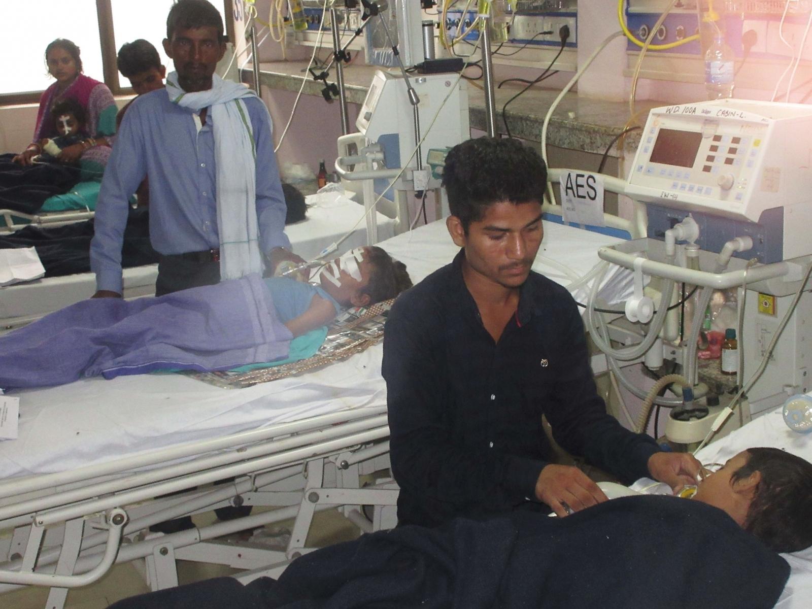 India children death in Gorakhpur