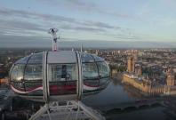 Sir Mo Farah Says Farewell With Signature Move On London Eye
