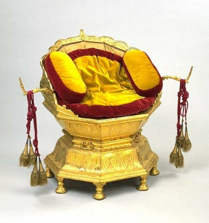 The Golden Throne of Maharaj Ranjit Singh