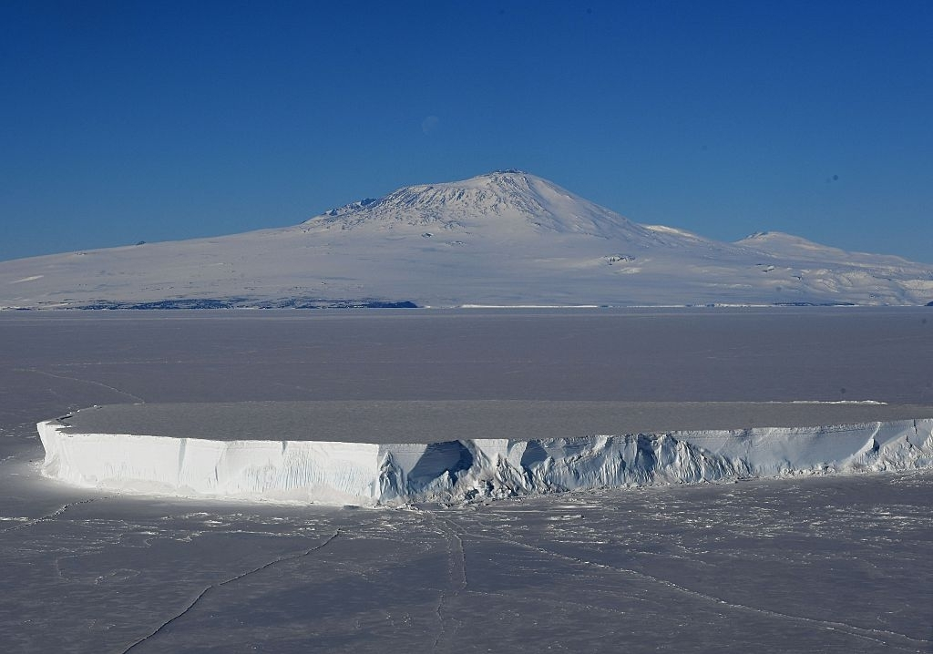 91 volcanoes found under the West Antarctica