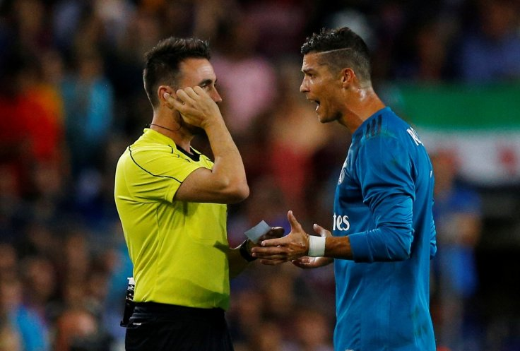 418435864 Real Madrid s Cristiano Ronaldo handed five-match ban for push on ...