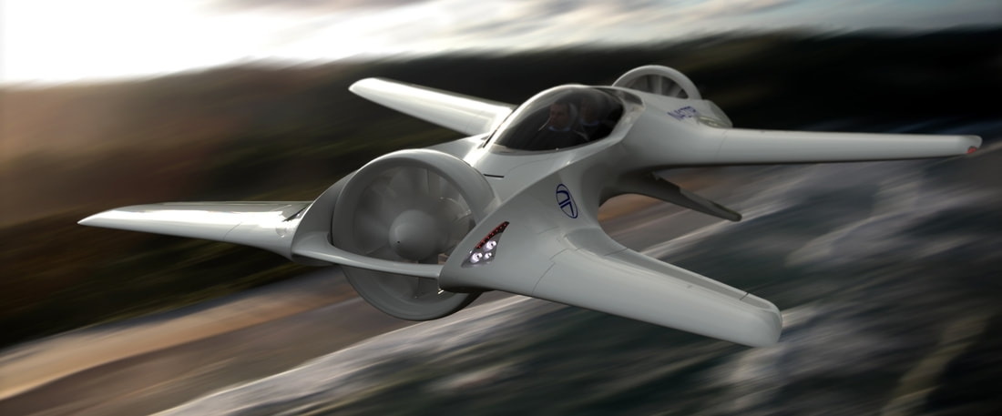 DeLorean DR-7 flying car