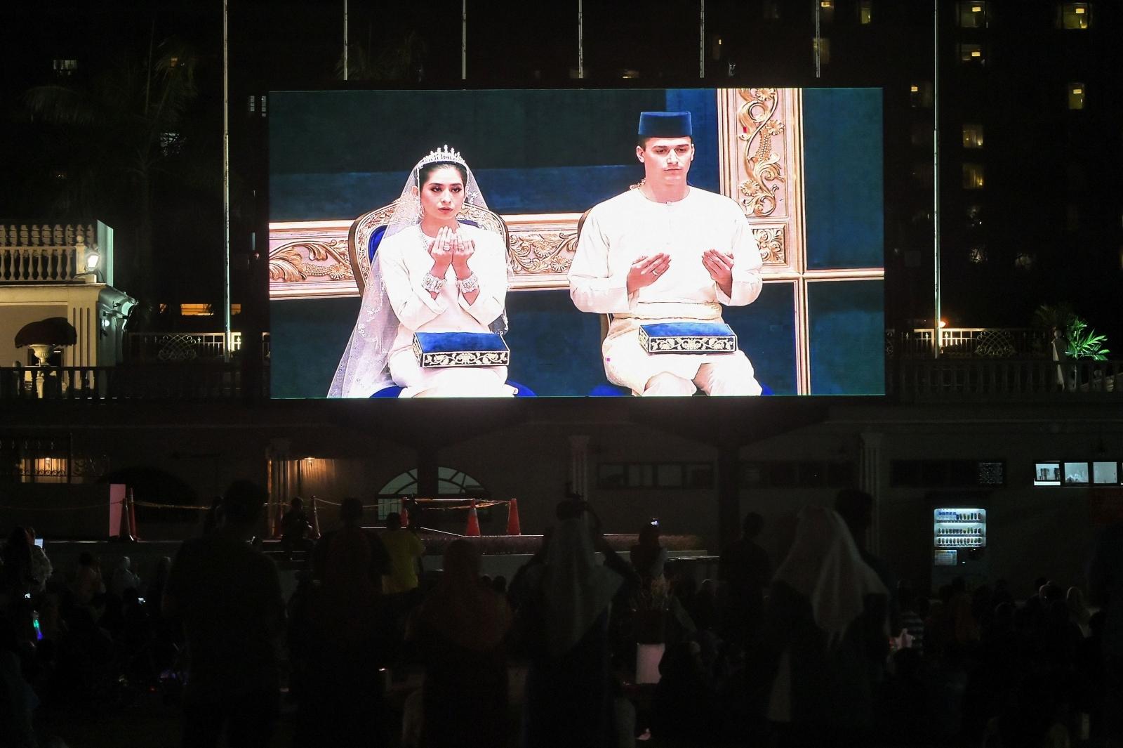 Malaysia royal wedding
