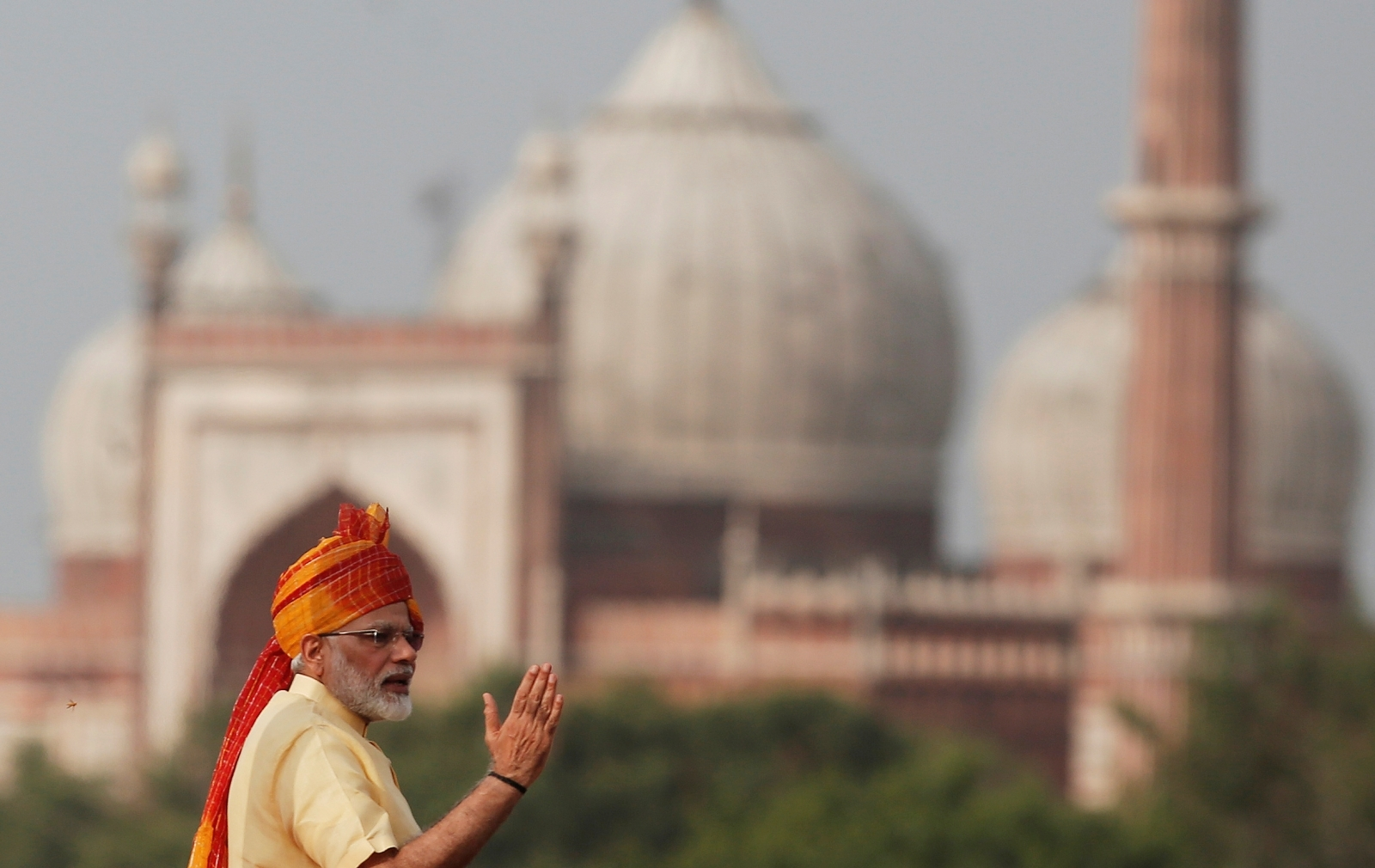 Narendra Modi Red Fort on Independence Day