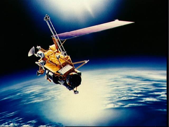 Risultati immagini per uars satellite crash