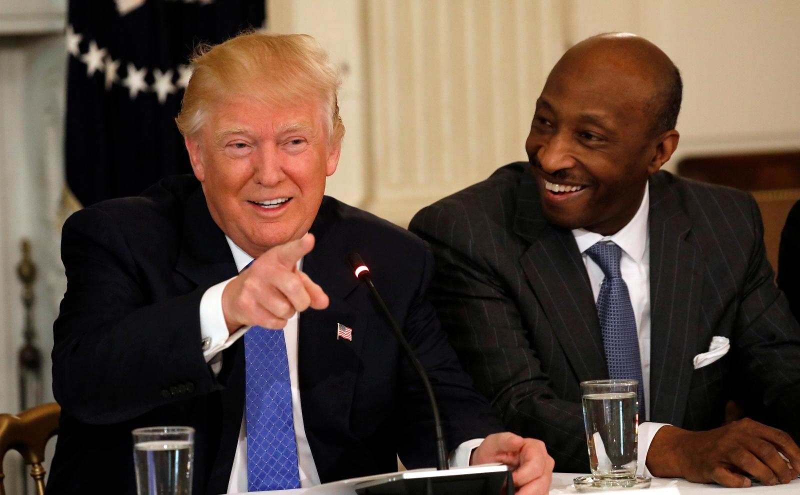 READ: Merck CEO Ken Frazier Quits Manufacturing Council Over Trump Charlottesville Statement