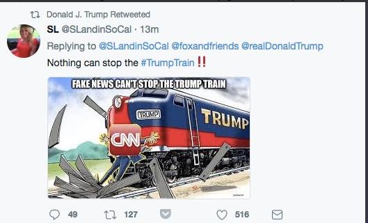 Trump retweet
