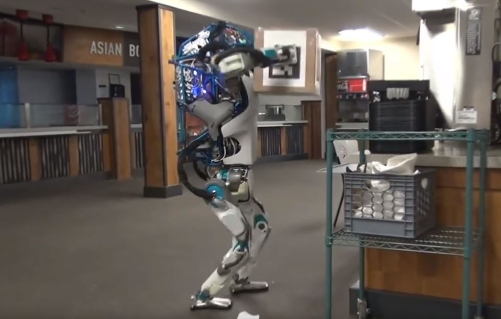 Boston dynamics robot fail