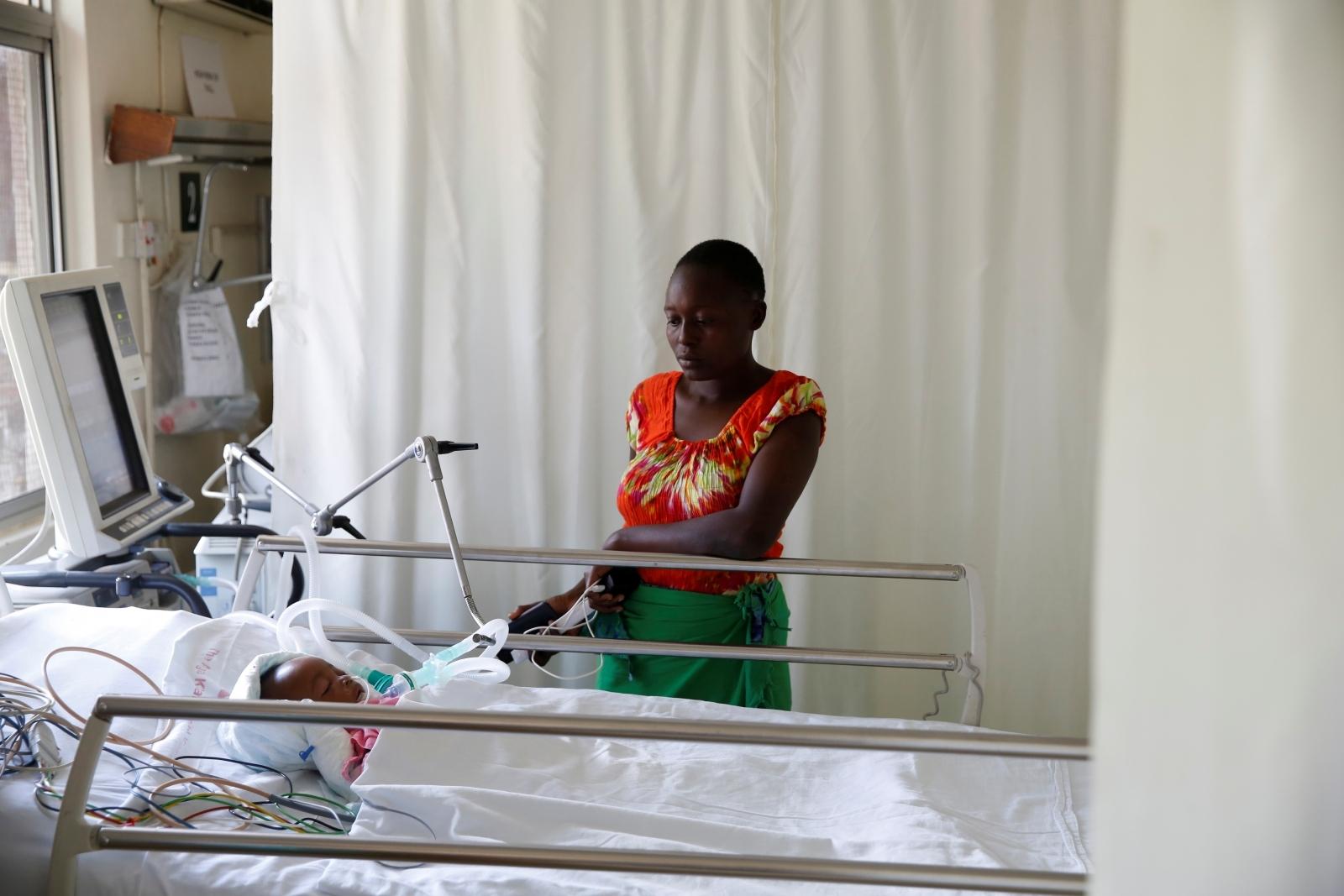 Child beaten by police in Kenya