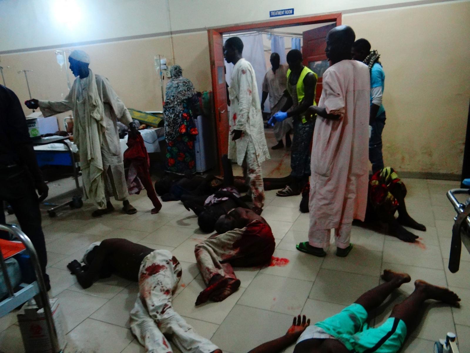 Nigeria Boko Haram attacks in Konduga village