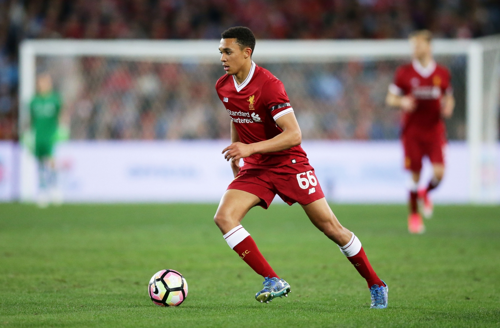 Liverpool boss Jurgen Klopp praises 'dead cheeky' Trent Alexander-Arnold after Champions League goal