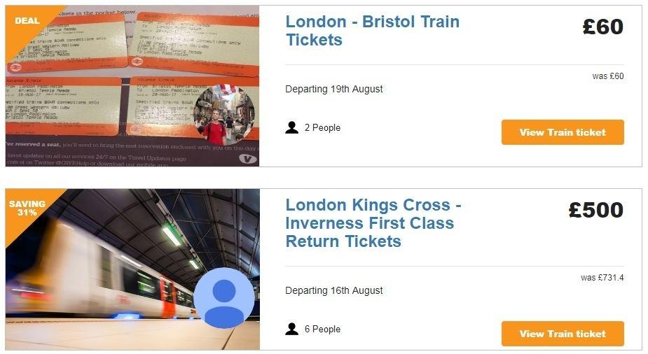 discount train tickets online