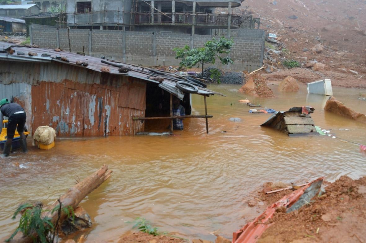 Sierra Leone Freetown mudslide