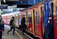 London commuter train