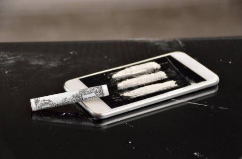 iPhone cocaine