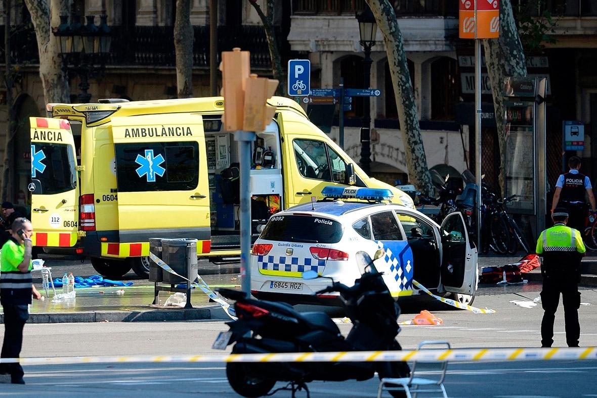 Barcelona crash