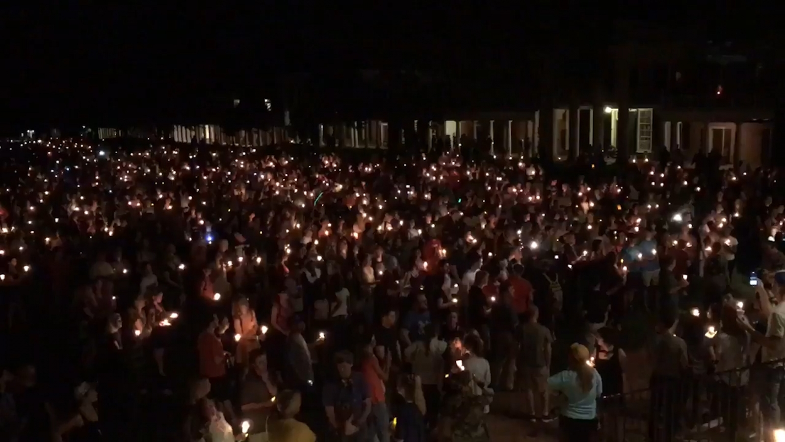 Charlottesville vigil held for victims of violent nationalist rallies