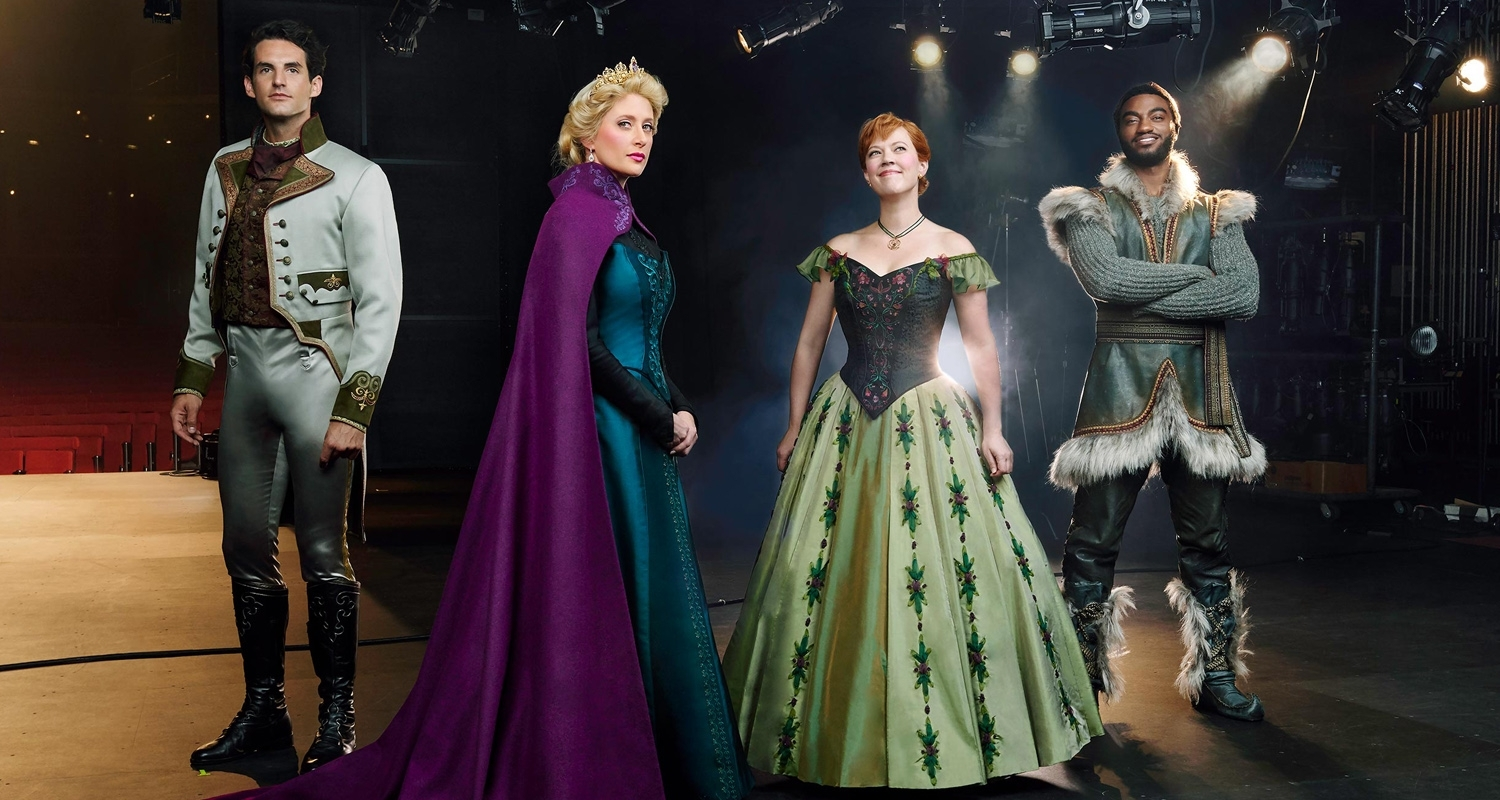 Get Your First Look At The Frozen On Broadway Cast In Costume